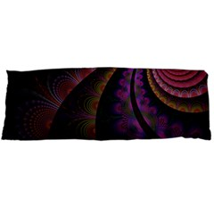 Fractal Colorful Pattern Spiral Body Pillow Case Dakimakura (two Sides) by AnjaniArt