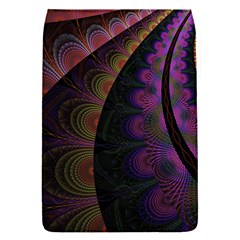 Fractal Colorful Pattern Spiral Removable Flap Cover (s)