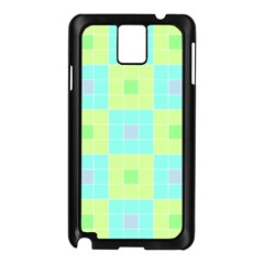 Grid Geometric Pattern Colorful Samsung Galaxy Note 3 N9005 Case (black) by AnjaniArt