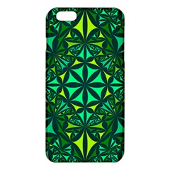 Green Triangle Pattern Kaleidoscope Iphone 6 Plus/6s Plus Tpu Case by AnjaniArt