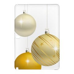 Hanging Christmas Balls Samsung Galaxy Tab Pro 10 1 Hardshell Case by AnjaniArt