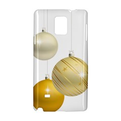 Hanging Christmas Balls Samsung Galaxy Note 4 Hardshell Case