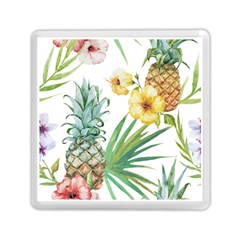 Hawaii Pineapple Wallpaper Tropical Plants Memory Card Reader (square)