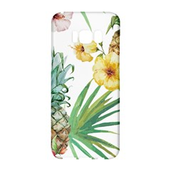 Hawaii Pineapple Wallpaper Tropical Plants Samsung Galaxy S8 Hardshell Case