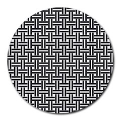 Line Pattern Round Mousepads