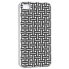 Line Pattern Apple Iphone 4/4s Seamless Case (white)