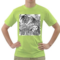 Leaves Nature Picture Green T Shirt