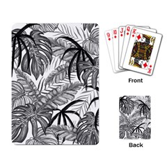 Leaves Nature Picture Playing Cards Single Design