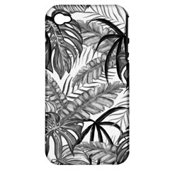 Leaves Nature Picture Apple Iphone 4/4s Hardshell Case (pc+silicone)