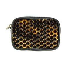 Hexagon Honeycomb Grid Pattern Coin Purse