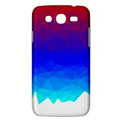 Gradient Red Blue Landfill Samsung Galaxy Mega 5 8 I9152 Hardshell Case