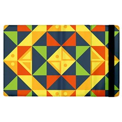Geometric Color Apple Ipad 2 Flip Case
