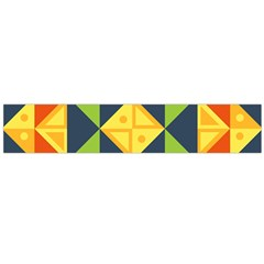 Geometric Color Large Flano Scarf