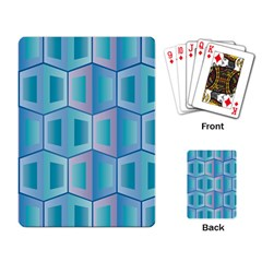 Geometric Background Pattern Playing Cards Single Design