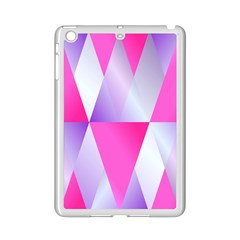 Gradient Geometric Shiny Light Ipad Mini 2 Enamel Coated Cases by Jojostore