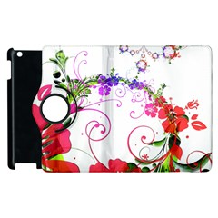 Flowers Floral Apple Ipad 2 Flip 360 Case by Jojostore