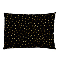 Grunge Pattern Black Triangles Pillow Case (two Sides)