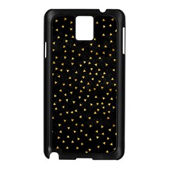 Grunge Pattern Black Triangles Samsung Galaxy Note 3 N9005 Case (black) by Jojostore