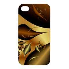 Fractals Background Texture Apple Iphone 4/4s Premium Hardshell Case
