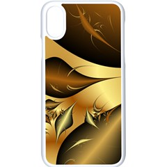 Fractals Background Texture Apple Iphone X Seamless Case (white)