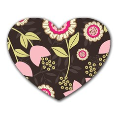 Flower Wallpaper Floral Heart Mousepads