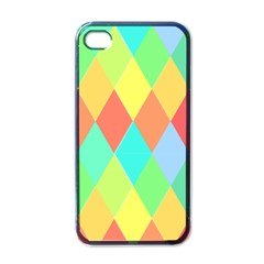 Low Poly Triangles Apple Iphone 4 Case (black)