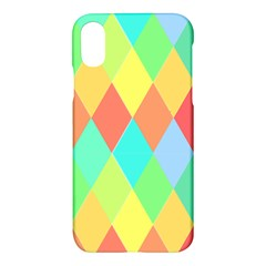 Low Poly Triangles Apple Iphone Xs Hardshell Case