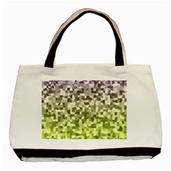 Irregular Rectangle Square Mosaic Basic Tote Bag (two Sides) by Jojostore