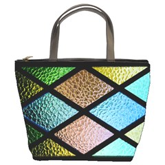 Stained Glass Soul Bucket Bag