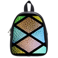 Stained Glass Soul School Bag (small) by WensdaiAddamns