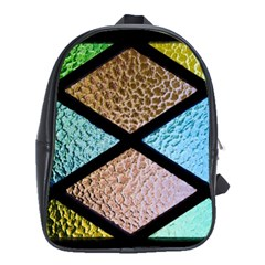 Stained Glass Soul School Bag (xl) by WensdaiAddamns