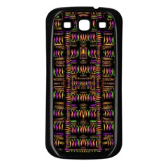 Surrounded By  Ornate  Loved Candle Lights In Starshine Samsung Galaxy S3 Back Case (black) by pepitasart