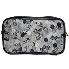 Grayscale Tiles Toiletries Bag (one Side)