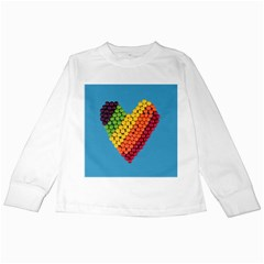 What A Sweet Heart Kids Long Sleeve T Shirts by WensdaiAddamns