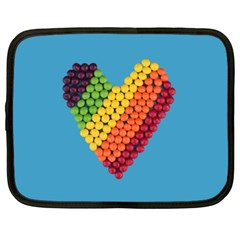 What A Sweet Heart Netbook Case (xxl) by WensdaiAddamns