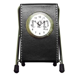Taylor Swift Pen Holder Desk Clock
