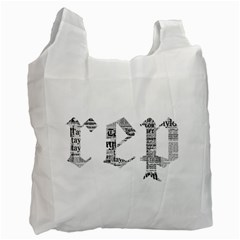 Taylor Swift Recycle Bag (one Side) by taylorswift