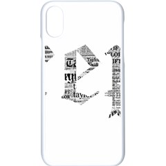 Taylor Swift Apple Iphone X Seamless Case (white)