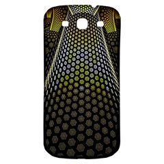 Fractal Hexagon Geometry Hexagonal Samsung Galaxy S3 S Iii Classic Hardshell Back Case