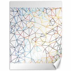 Geometric Pattern Abstract Shape Canvas 36  X 48