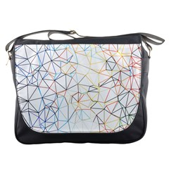 Geometric Pattern Abstract Shape Messenger Bag