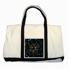 Design Background Modern Two Tone Tote Bag