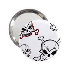Illustration Vector Skull 2 25  Handbag Mirrors