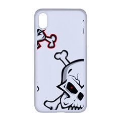 Illustration Vector Skull Apple Iphone Xr Seamless Case (white)