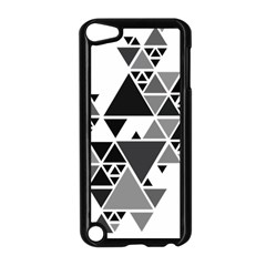 Gray Triangle Puzzle Apple Ipod Touch 5 Case (black)