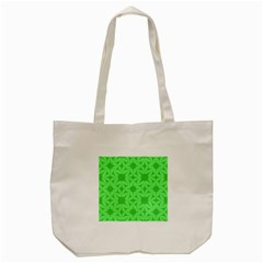 Green Magenta Wallpaper Seamless Pattern Tote Bag (cream)