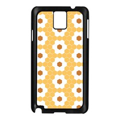 Hexagon Honeycomb Samsung Galaxy Note 3 N9005 Case (black) by Mariart
