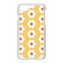 Hexagon Honeycomb Apple Iphone 8 Seamless Case (white) by Mariart