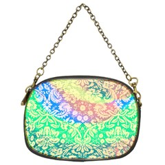 Hippie Fabric Background Tie Dye Chain Purse (two Sides)