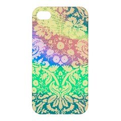 Hippie Fabric Background Tie Dye Apple Iphone 4/4s Hardshell Case